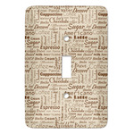 Coffee Lover Light Switch Covers (Personalized)