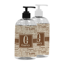 Coffee Lover Plastic Soap / Lotion Dispenser (Personalized)