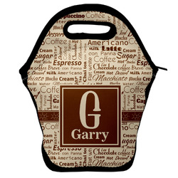 Coffee Lover Lunch Bag (Personalized)