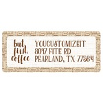Coffee Lover Return Address Labels (Personalized)