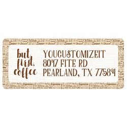 Coffee Lover Return Address Label (Personalized)