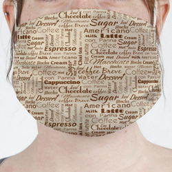 Coffee Lover Face Mask Cover (Personalized)