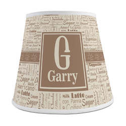 Coffee Lover Empire Lamp Shade (Personalized)