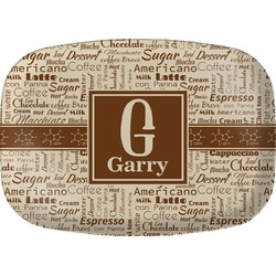 Coffee Lover Melamine Platter (Personalized)