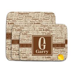 Coffee Lover Memory Foam Bath Mat (Personalized)