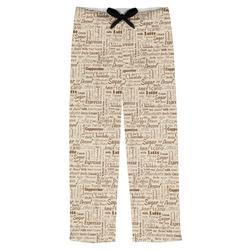 Coffee Lover Mens Pajama Pants (Personalized)