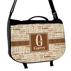 Coffee Lover Messenger Bag (Personalized)