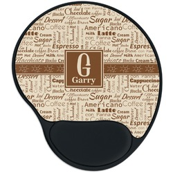Coffee Lover Mouse Pad with Wrist Support