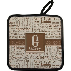 Coffee Lover Pot Holder (Personalized)