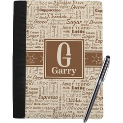 Coffee Lover Notebook Padfolio (Personalized)
