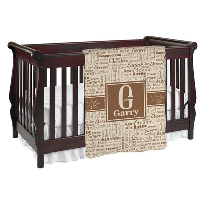 Coffee Lover Baby Blanket (Personalized)