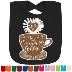 Coffee Lover Bib - Select Color (Personalized)