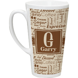 Coffee Lover Latte Mug (Personalized)