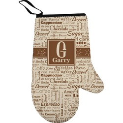 Coffee Lover Right Oven Mitt (Personalized)