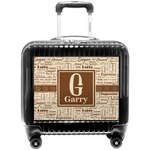 Coffee Lover Pilot / Flight Suitcase (Personalized)