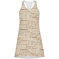 Coffee Lover Racerback Dress (Personalized)