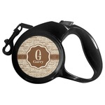 Coffee Lover Retractable Dog Leash (Personalized)