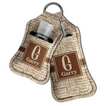 Coffee Lover Hand Sanitizer & Keychain Holder (Personalized)