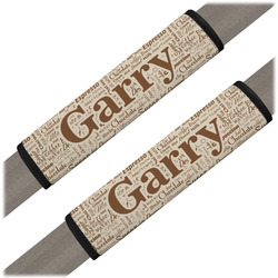 Coffee Lover Seat Belt Covers (Set of 2) (Personalized)