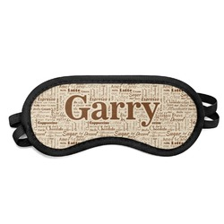 Coffee Lover Sleeping Eye Mask (Personalized)