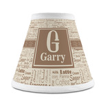 Coffee Lover Chandelier Lamp Shade (Personalized)