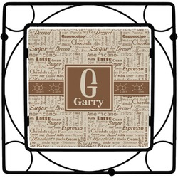 Coffee Lover Trivet (Personalized)