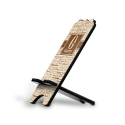 Coffee Lover Stylized Phone Stand (Personalized)