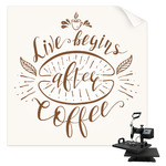 Coffee Lover Sublimation Transfer (Personalized)