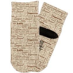 Coffee Lover Toddler Ankle Socks (Personalized)