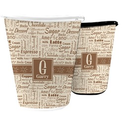 Coffee Lover Waste Basket (Personalized)