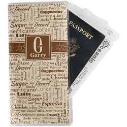 Coffee Lover Travel Document Holder