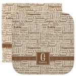 Coffee Lover Facecloth / Wash Cloth (Personalized)