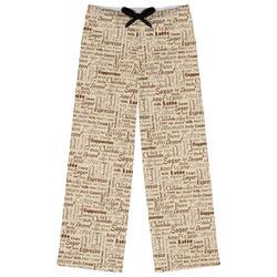 Coffee Lover Womens Pajama Pants (Personalized)
