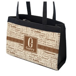 Coffee Lover Zippered Everyday Tote (Personalized)