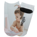 Baby Girl Photo Adult Ankle Socks