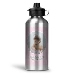 Baby Girl Photo Water Bottle - Aluminum - 20 oz (Personalized)