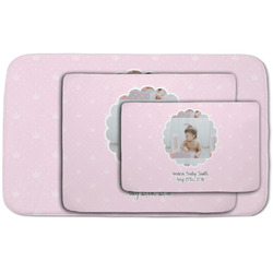 Baby Girl Photo Area Rug (Personalized)