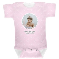 Baby Girl Photo Baby Bodysuit (Personalized)