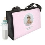 Baby Girl Photo Diaper Bag (Personalized)