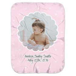 Baby Girl Photo Baby Swaddling Blanket (Personalized)