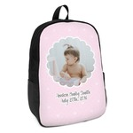 Baby Girl Photo Kids Backpack (Personalized)