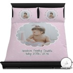 Baby Girl Photo Duvet Covers (Personalized)