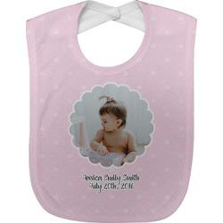 Baby Girl Photo Baby Bib (Personalized)