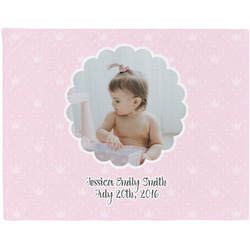 Baby Girl Photo Placemat (Fabric) (Personalized)