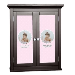 Baby Girl Photo Cabinet Decal - Custom Size (Personalized)