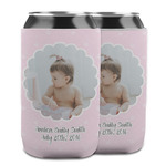 Baby Girl Photo Can Cooler (12 oz)