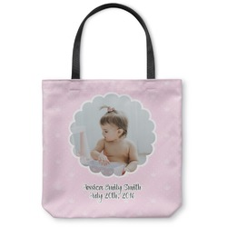 Baby Girl Photo Canvas Tote Bag (Personalized)