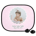Baby Girl Photo Car Side Window Sun Shade (Personalized)