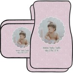 Baby Girl Photo Car Floor Mats (Personalized)