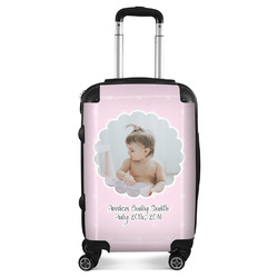 Baby Girl Photo Suitcase (Personalized)